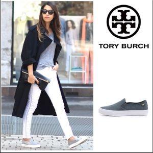 Tory Burch Womens slip on sneakers